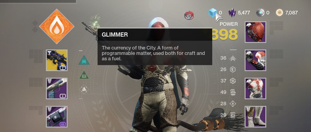 Destiny 2 Update 2.7.1 deleting in-game materials
