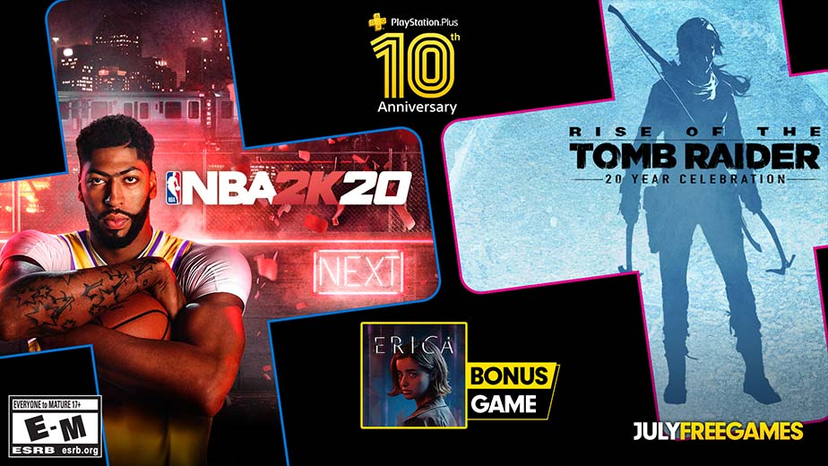 PlayStation Plus Free Games July 2020 PS Plus
