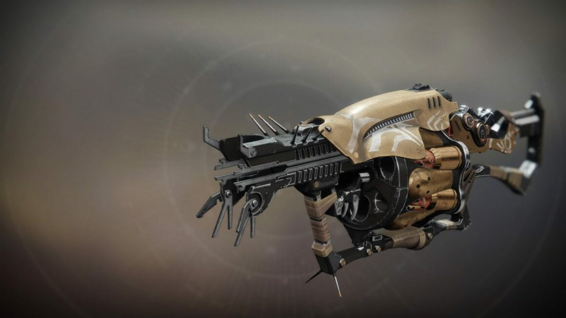 Destiny 2 Anarchy Exotic Grenade Launcher Weapon