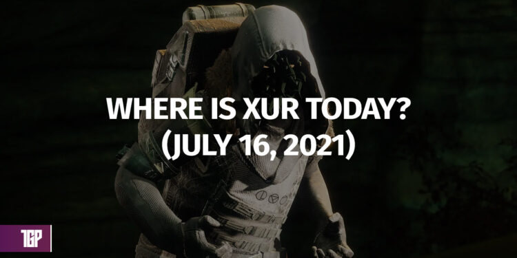 Destiny 2 Where is Xur July 16