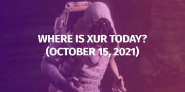 Destiny 2 Where is Xur October 15 2021 Exotic Inventory Weapons Armor Legendary