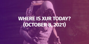 Destiny 2 Where is Xur October 8 2021 Exotic Inventory Weapons Armor Legendary